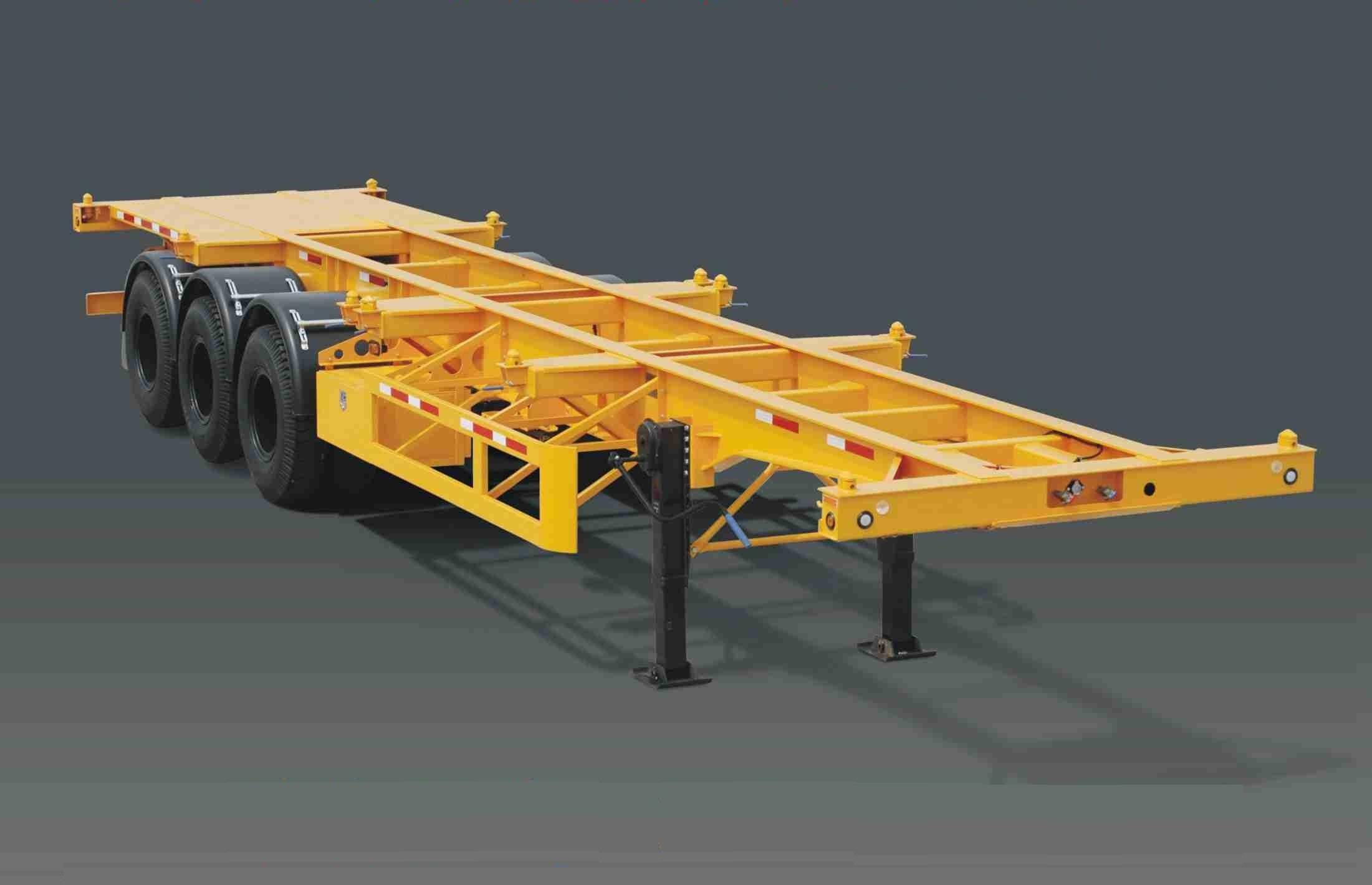 40ft 3Axles Container trailer