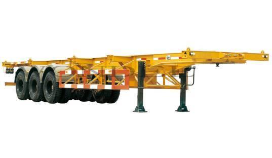 3 axle skeleton semi trailer manufacturer