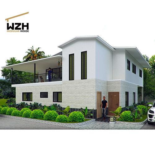 Cheap Prefabricated Modern Villa House