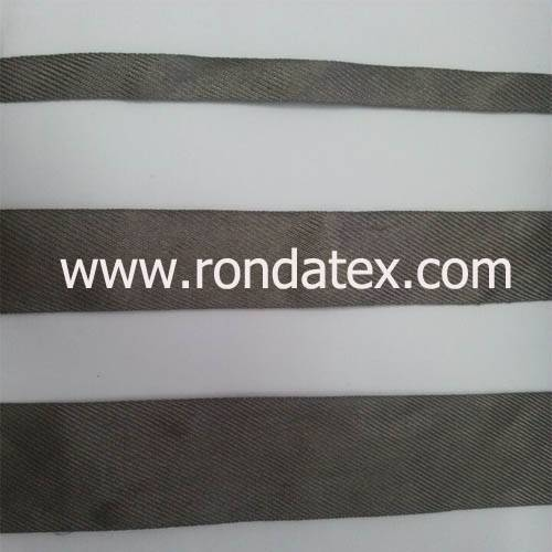 Stainless steel fiber conductive ribbon