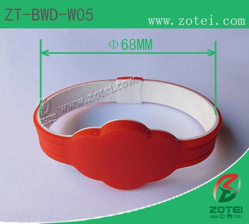 RFID silicone wristband tag(ZT-BWD-W05)