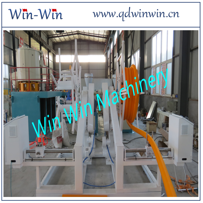 700 Kg/H 630mm Corrugated Pipe Extrusion Line