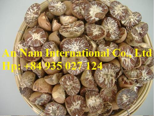 Dry betel nuts