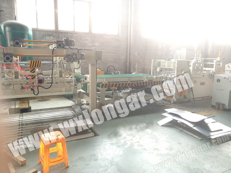 3 Mm HR Steel Coil Cutting Machine China