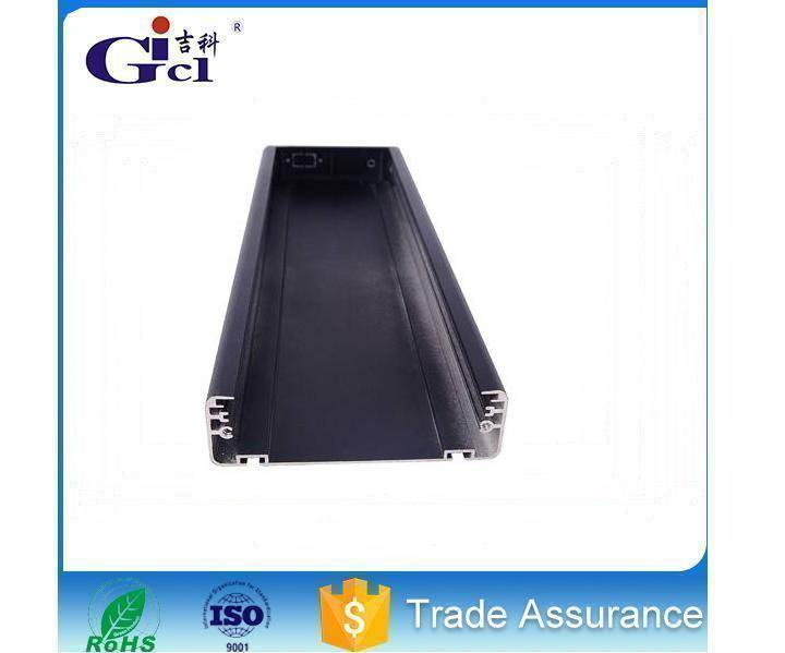 Gicl-11835 LED aluminum frame led taxi screen display aluminum profile led advertising display frame