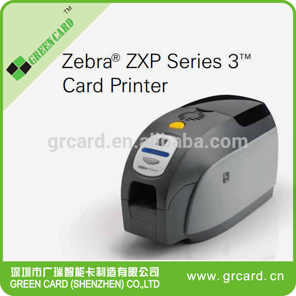 Famous Zebra zxp series 3 id card printer