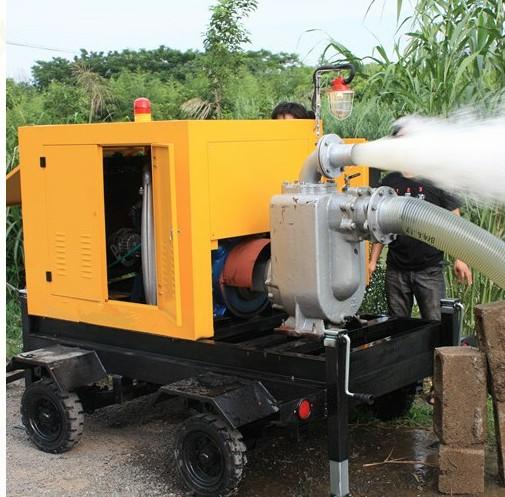 sand gravel pump With Diesel Engine Generator