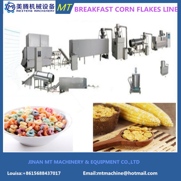 Small Scale Corn Flakes Production Plant