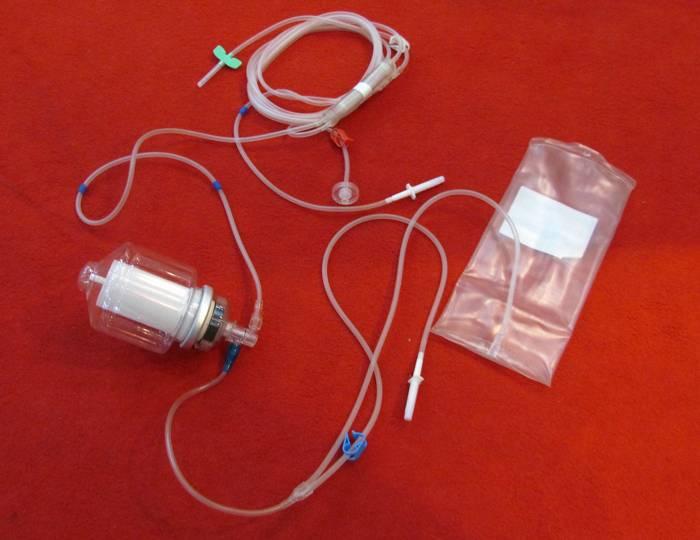 Plasmapheresis Centrifuge Apparatus for Single Use