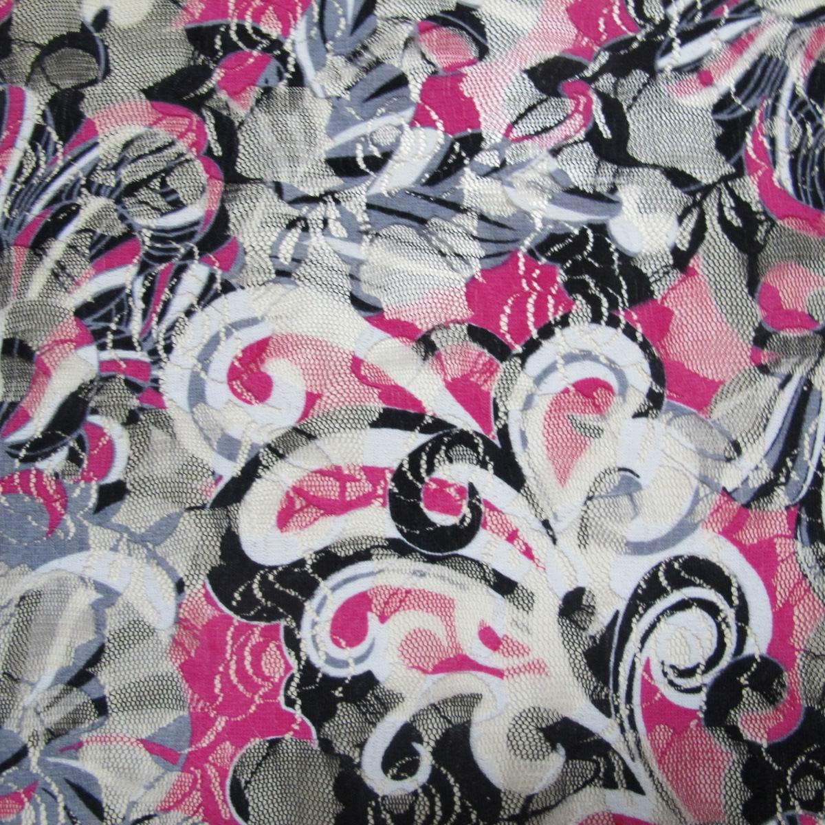 SHKLNS0320 nylon lace print