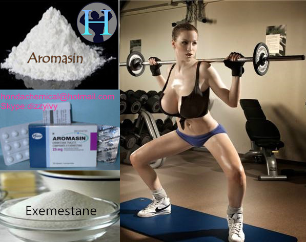 99% purity Exemestane Aromasin CAS #107868-30-4 Anti Estrogen Aromasin Steroid for body building