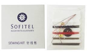 hotel amenities- sewing kit
