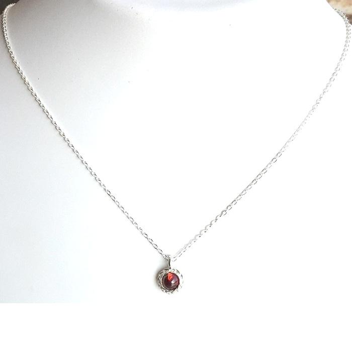 cage silver pendant