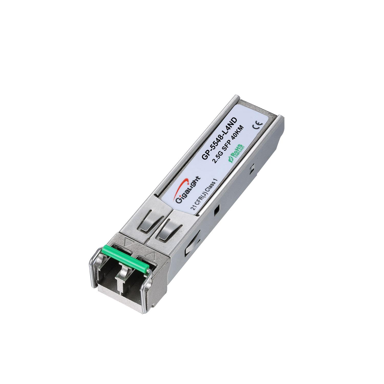 LC 2.5Gbps SMF 1550nm 40km DDM SFP Fiber Optic Transceiver