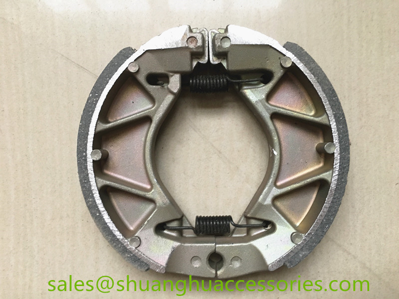 VEGA ZR brake shoe for Yamaha motorcycle,weightness of 310g,ISO9001:2008