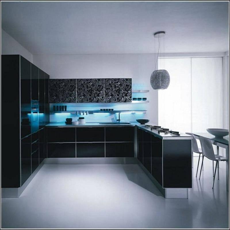 Lacquer  kitchen cabinet kitchen furniture
