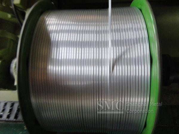 Rectangular Enameled Aluminum Wire
