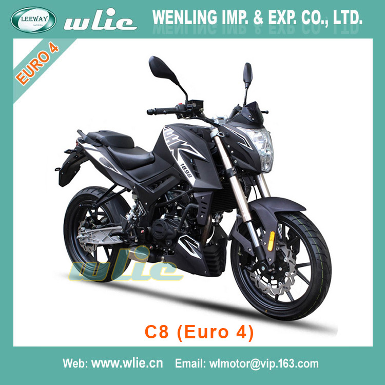 With Euro 4 EEC EFI system 50cc/125cc racing motorcycle C8 (Euro 4)