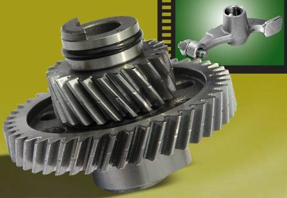 Motorcycle Camshaft & Roller-arms
