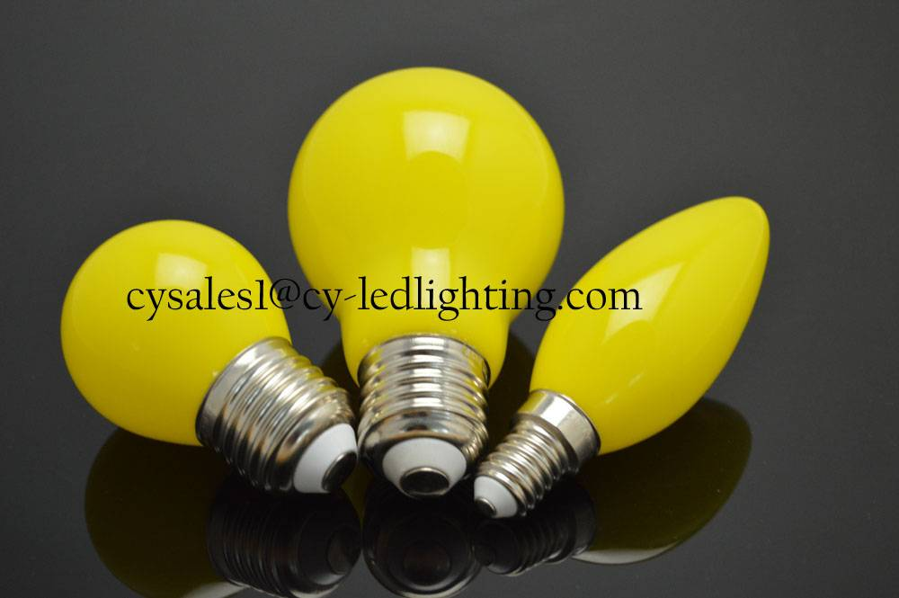 Colorful led decoration bulb Christmas LED bulb
