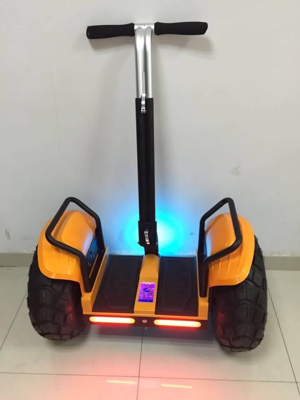 2015 Newest Model Popular Two Wheel off-Road Electric Motorcycle Scooter Ourdoors with LED Screen