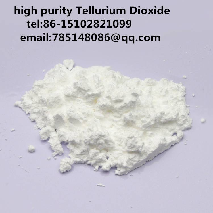 99.99%/99.999% high purity Tellurium Dioxide(TeO2)