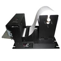 80mm thermal printer with auto cutter and anti jam mechanism