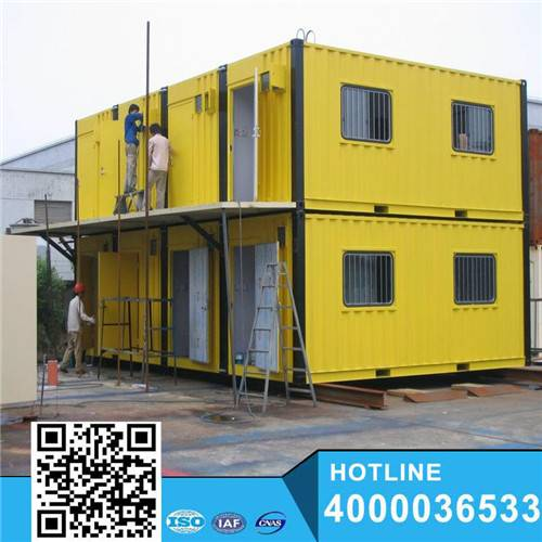 Three floor Container house car motel building