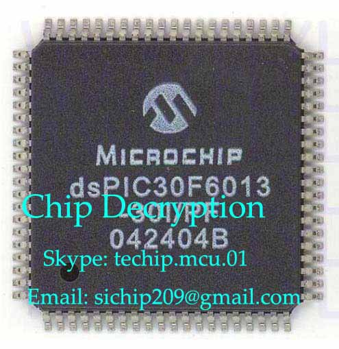 PIC24HJ64GP206A mcu attack