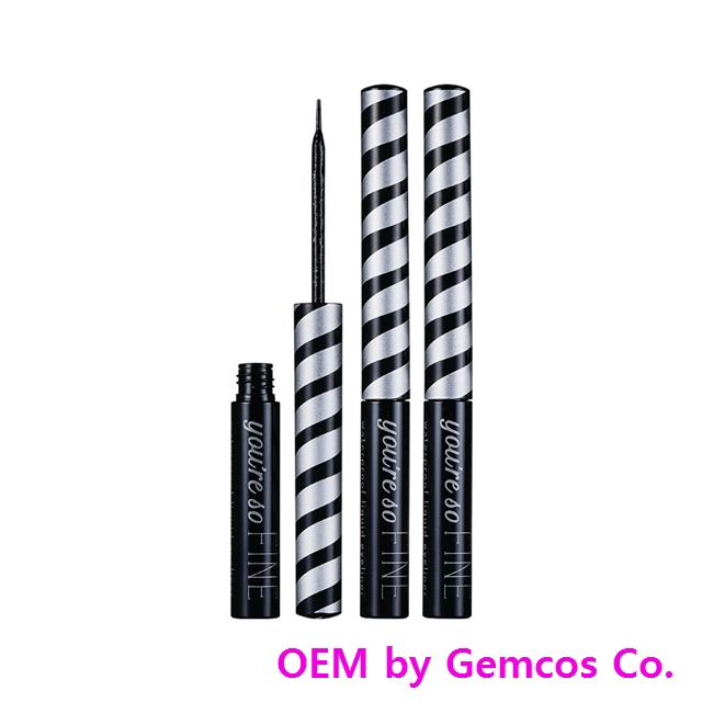 Gemcos Liquid Eyeliner (EY-204) (Excellent Quality Korean products)