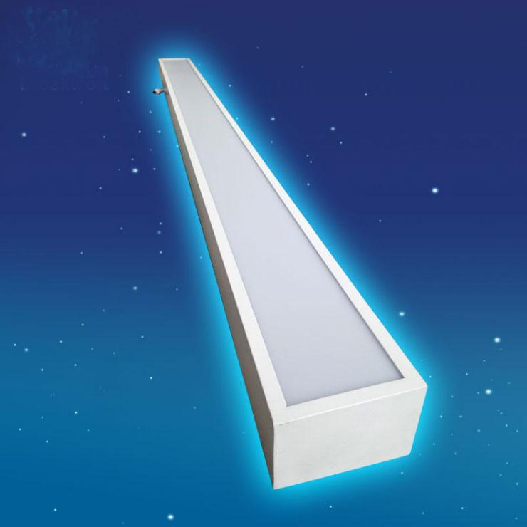 Supermarket&Office lighting 2835SMD chips Aluminum led profile light