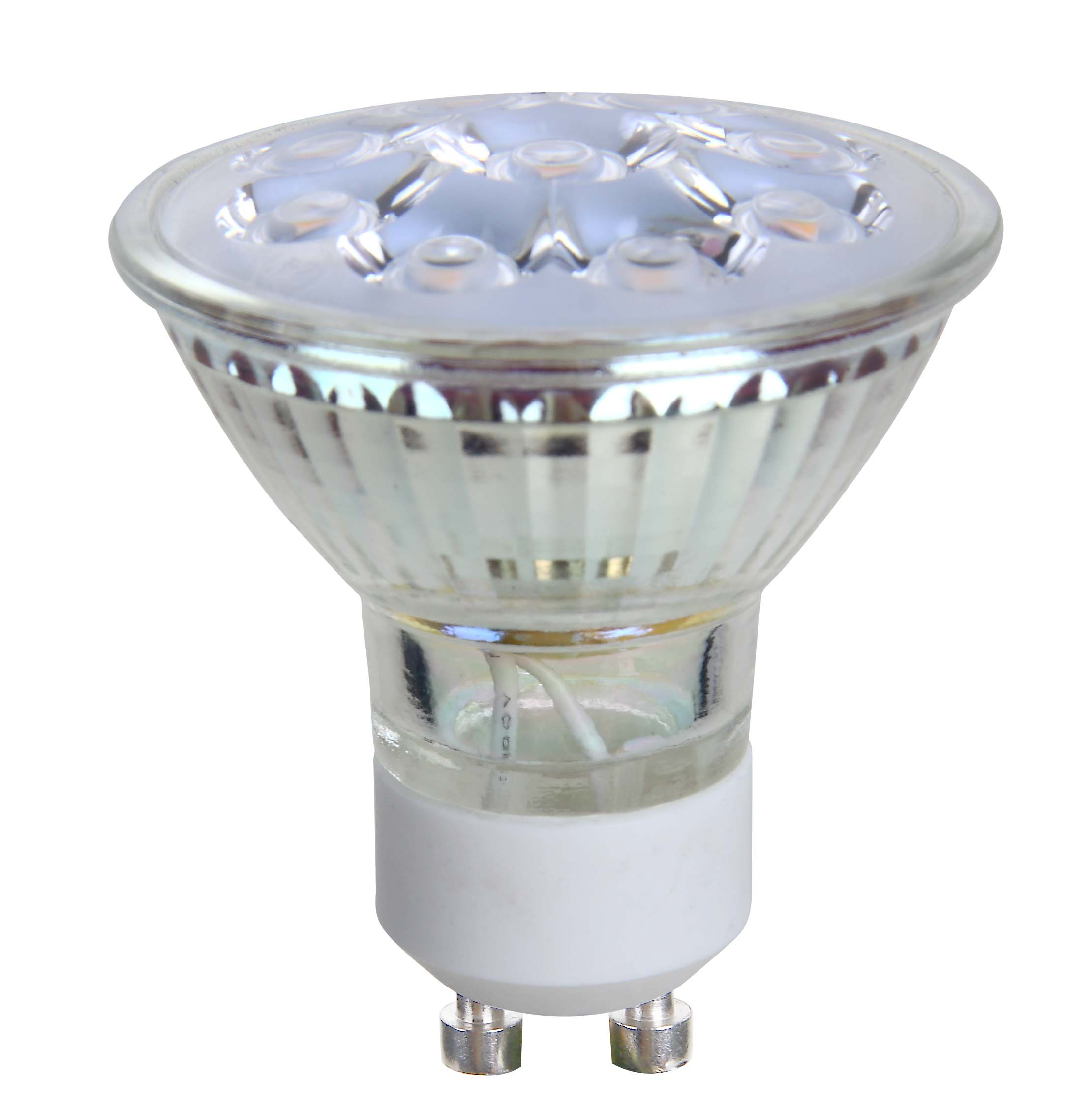 5w glass 38 and 60 degree beam angle GU10 Mr16 led spotlight