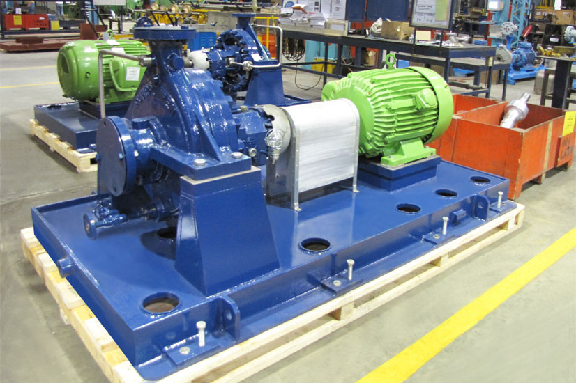 VOHB horizontal, single stage, single suction, radially split cantilever pumps
