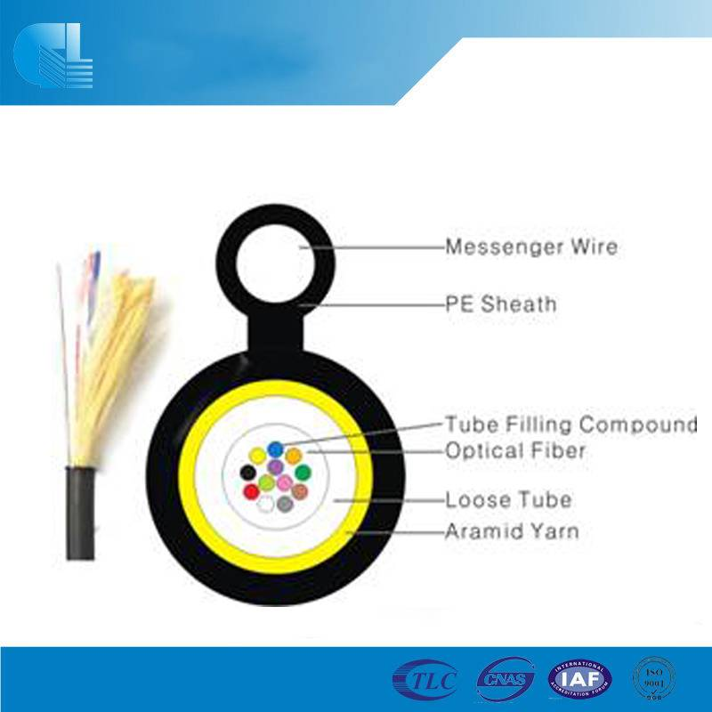 Mini Figure 8 Fiber Optic Cable(GYAXTC8Y)