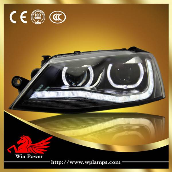 2012 2013 Volkswagen Jetta MK6 Headlight with LED DRL and Bi-xenon Projector