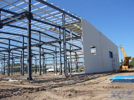 Steel Structure Industrical Workshop