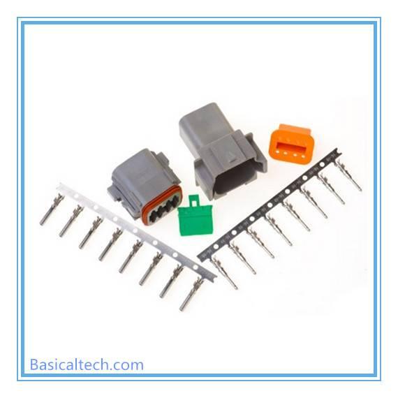 Dt04-8p Dt06-8s Waterproof Auto Deutsh 8 Pin Connector