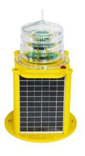 Portable solar marine lantern