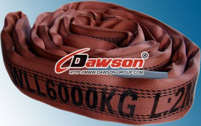 WLL 6Ton Polyester Endless Round Slings