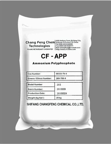 Ammonium polyphosphate-treated by Silane