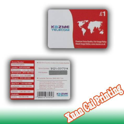 phone recharge card