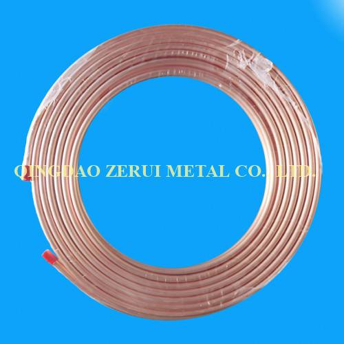 R410A Rated Soft Annealed Refrigeration Copper Tube Coil