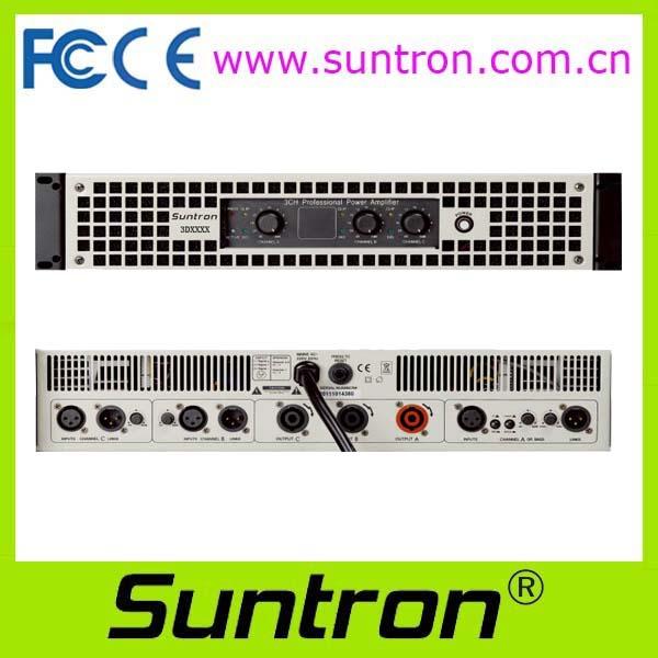 Suntron 3D Series 3CH Power Amplifier