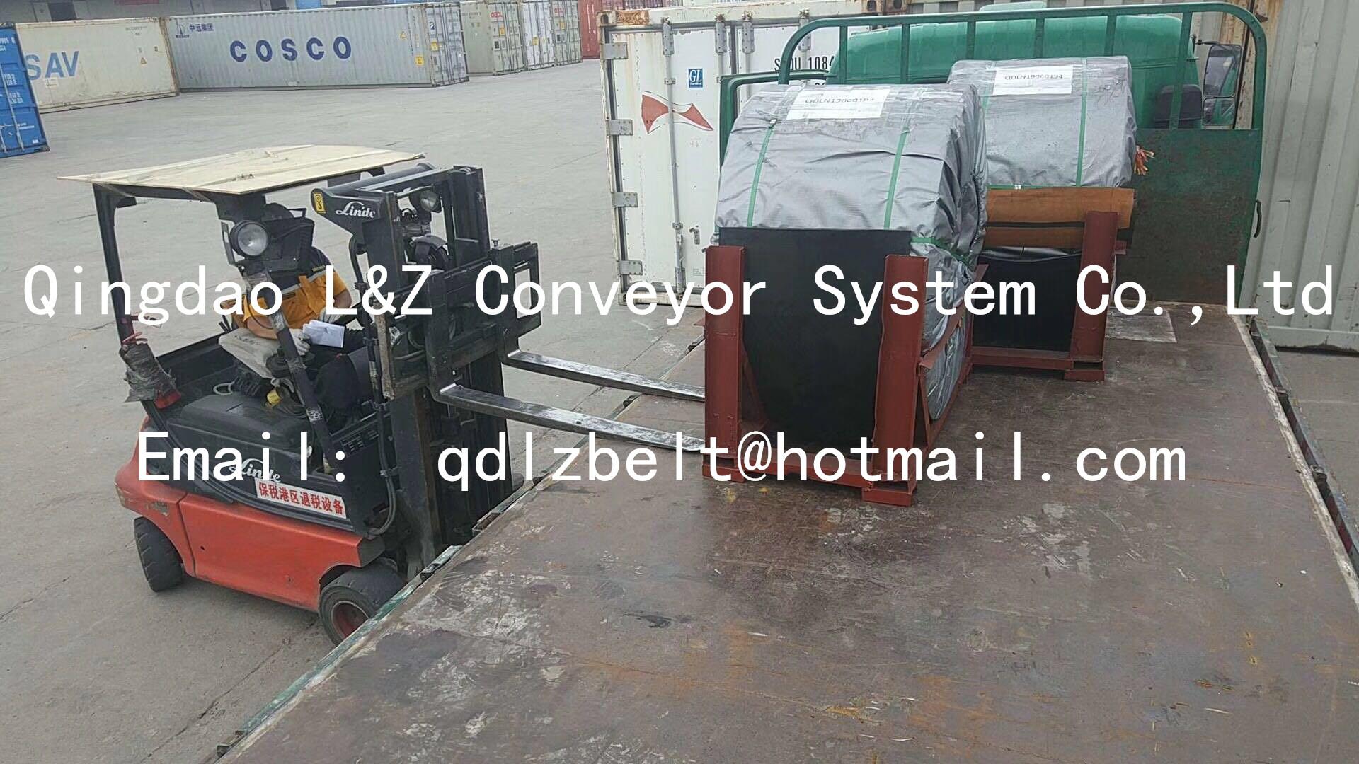Chinese rubber conveyor belt