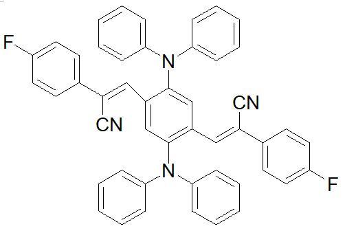 (2Z,2Z)-3,3-(2,5-bis(diphenylamino)-1,4-phenylene)bis(2-(4-fluorophenyl)acrylonitrile)