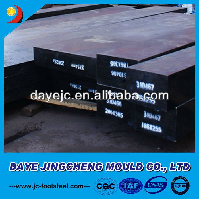 Tool Steel D6/ 1.2436 Flat Bar, Forged Steel D6 Bars, Rolled Steel D6 Steel