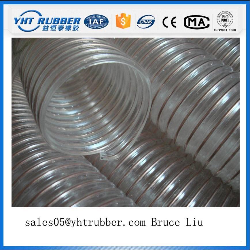 Poly Urethane Material Handling Hose Polyurethane Hose PU Material