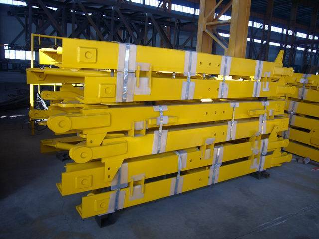 Tower Crane Mast Sections , L68B2 Tower Crane Spare Parts,Crane Mast