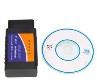 WIFI OBD2 CAN-BUS Automotive Scan Tools with iPhone and Android OBDii Interface / Connector