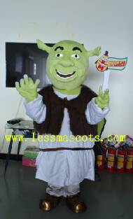 OHLEES Lake of the history of professional custom mascot costume mascot adult size, free shipping